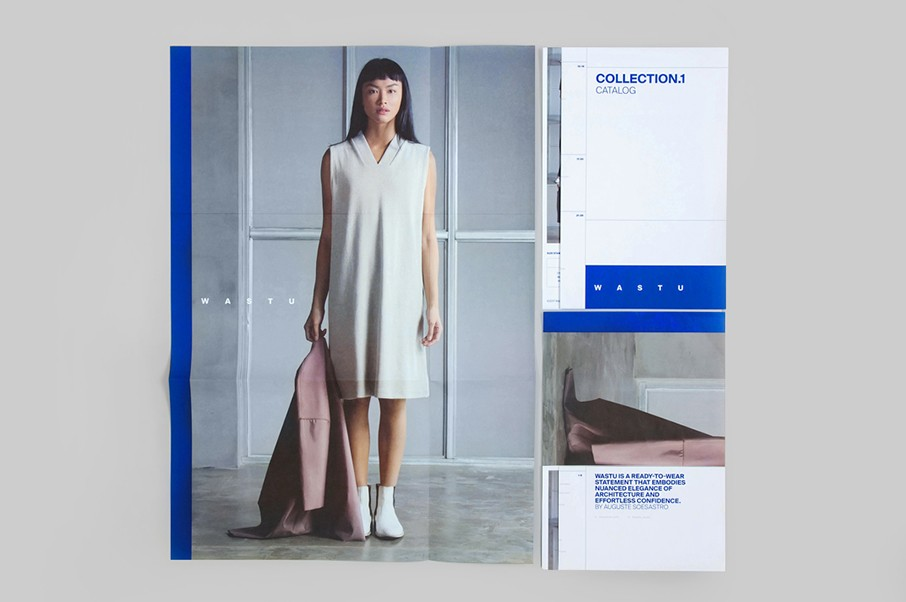 Architect-fold catalog for COLLECTION.1