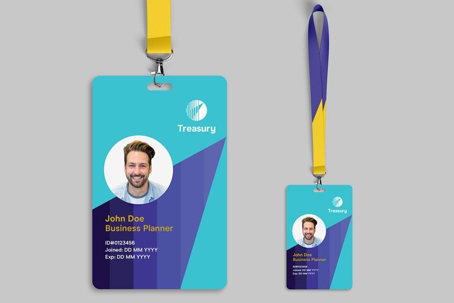 Employee ID Card & Lanyard