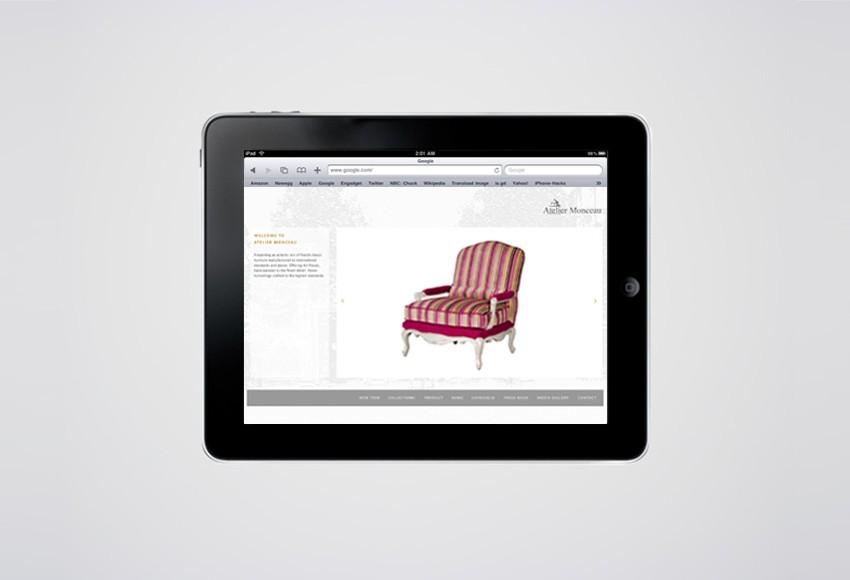 Atelier Monceau Website