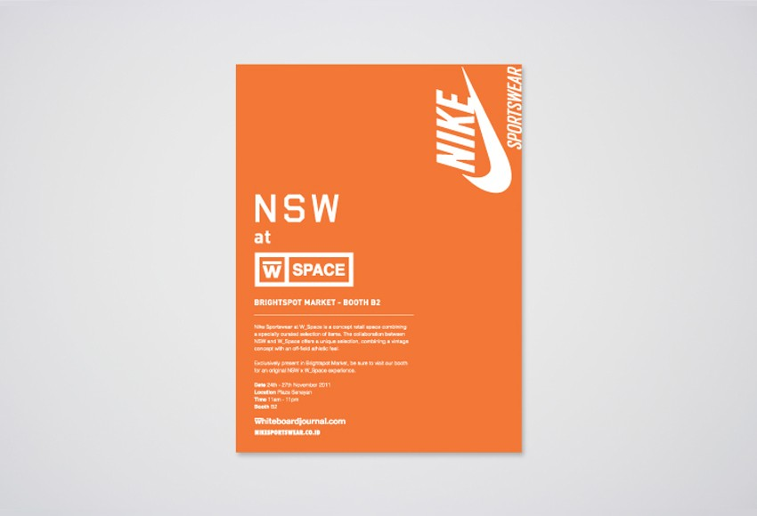Nike Indonesia - NSW at W Space