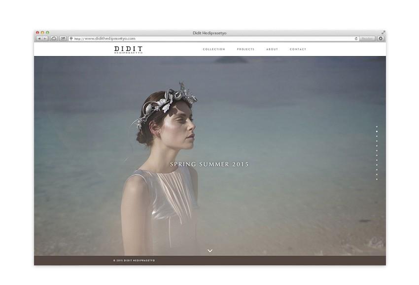 Didit Haditprasetyo Website