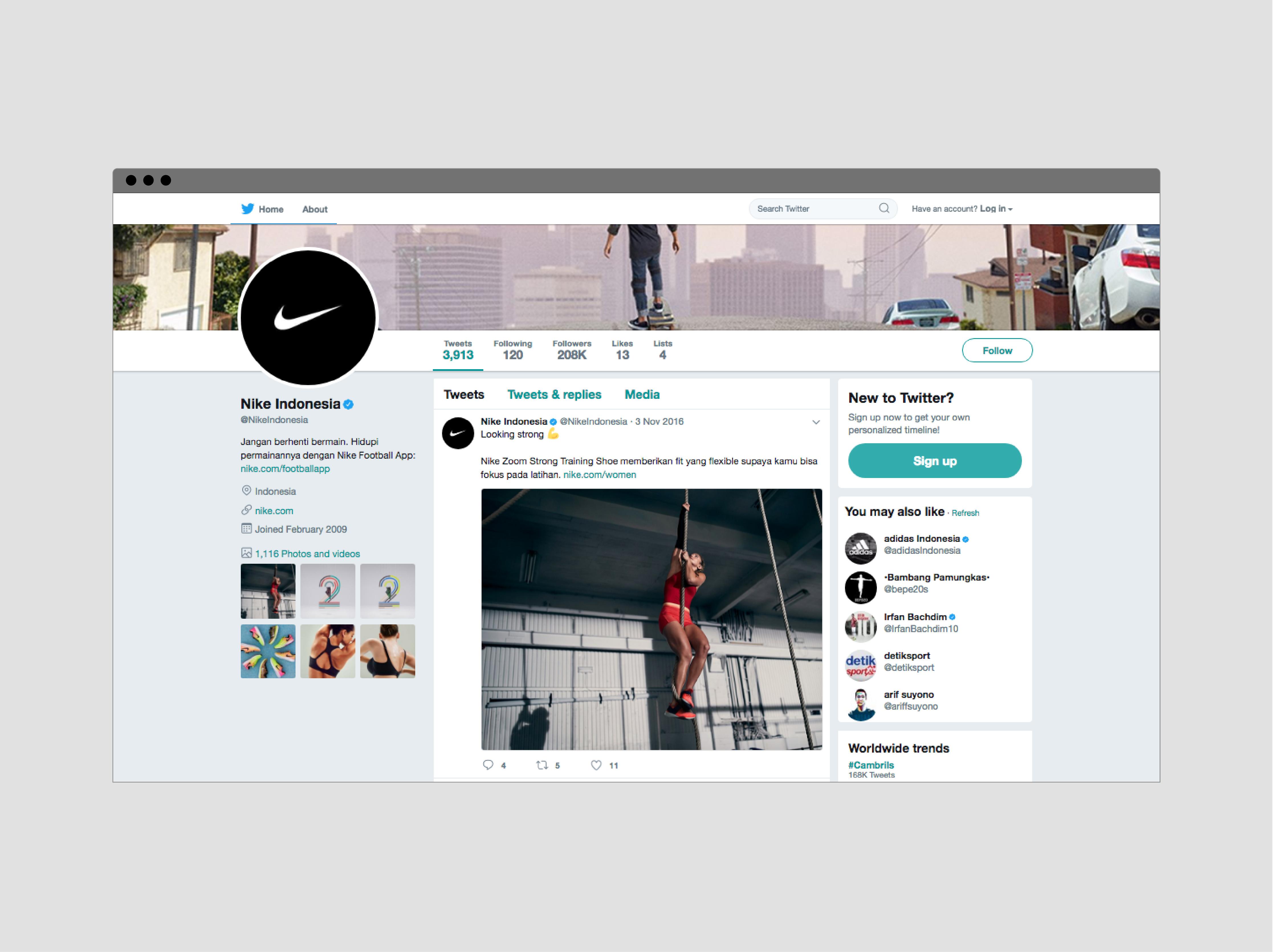 Studio 1212 | Project - Nike Indonesia